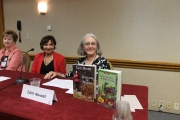 Edith on her panel along with the fabulous Connie Archer who has a series set in Vermont