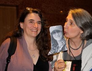 Sara J. Henry and Louise Penny pose with Liz Mugavero!