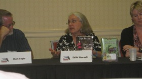 Edith Maxwell on panel