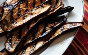 grilled-Chinese-eggplant-in-teriyaki-sauce