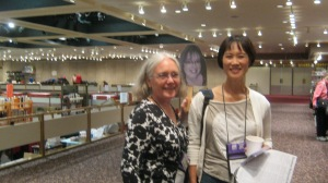 Edith, Sherry-on-a-Stick, and Tess Gerritsen