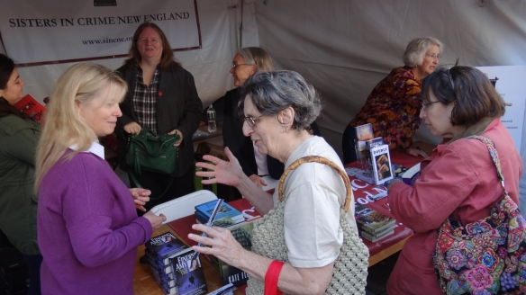 You can see Barb and Edith at the SinCNE booth last year.
