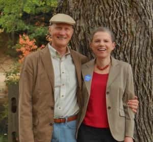 Ben and Beth Oak, the writing team of B.B. Oak