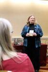 Barbara Ross at Authors Alley 2013.