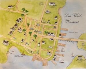 Lea Wait's Wiscasset, Maine from her children's books. Learn more here.http://www.leawait.com/children.html