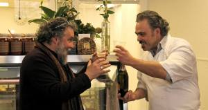 Who wouldn't want to share Prosecco with cheesemaker Luca?