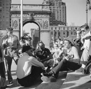 Washington Square Park 1950s