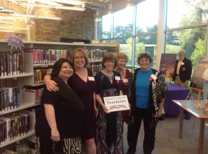 Chessie Members: Barb Goffman, Me, Shari Randall, Ellen Crosby, and Donna Andrews