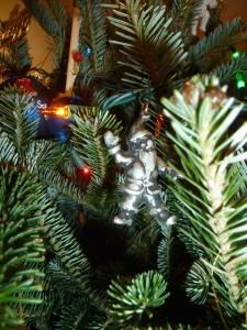 Suicide Santa in situ