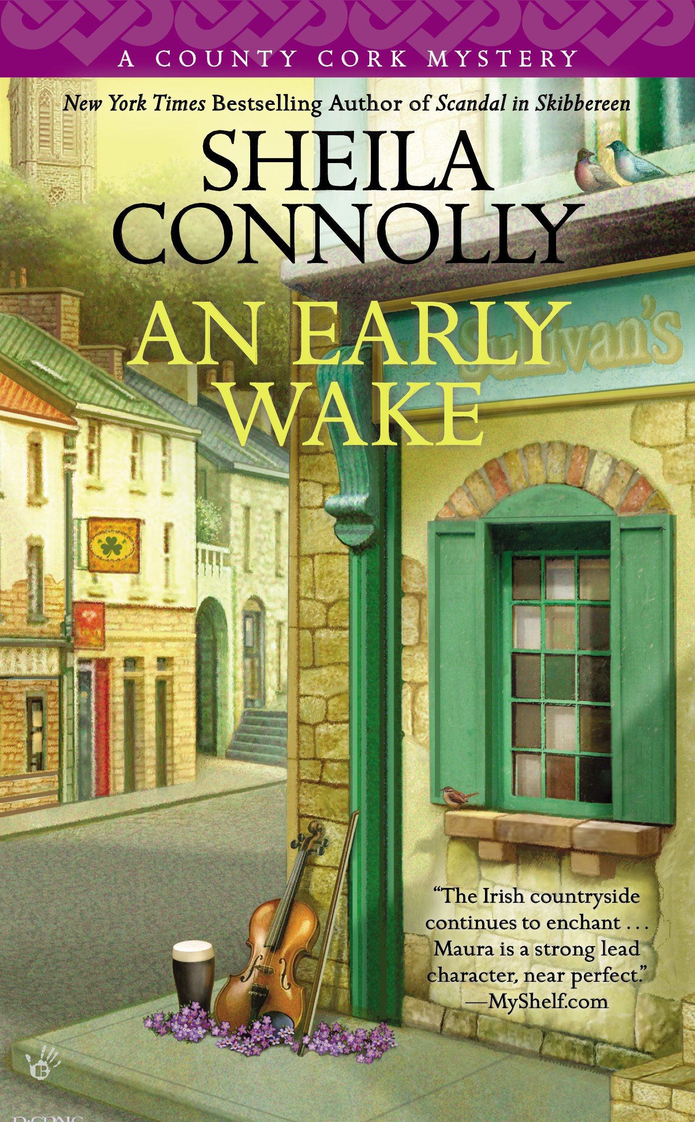 Happy book birthday an early wake by sheila connolly wicked cozy happy book birthday an early wake by sheila connolly wicked cozy authors fandeluxe Gallery