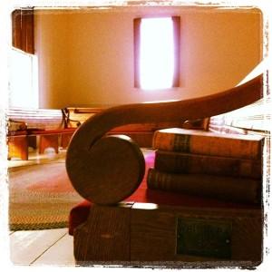 Photo of Whittier's Seat by Kathleen Wooten.