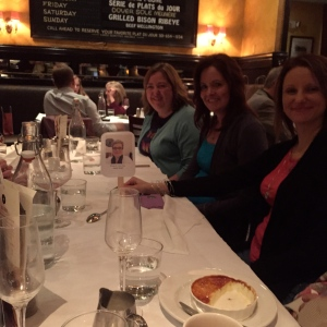 Dinner with the Wickeds and author Laura Bradford.
