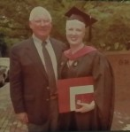 Dad and I at my graduation from the Harvard Extension School.