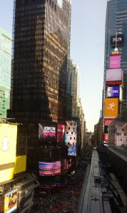 Times Square--portal to another universe?
