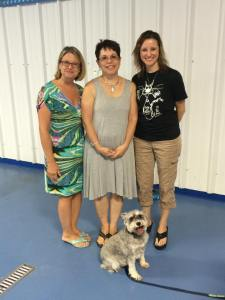 Lori Ratchelous and Kerry Bartoletti of FFCC with me and Shaggy.