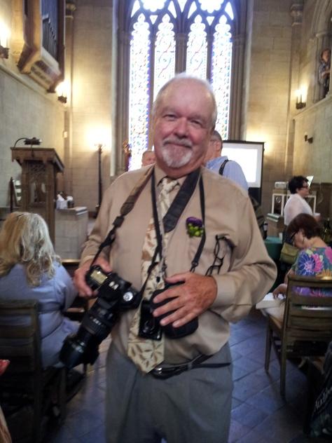 John Garp Harrison, on the other side of the lens.