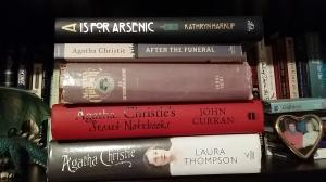 Agatha books on my shelf