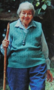 Lynn Mooncat Buck's author picture, taken at Pyramid Lake, from the back cover of her second novel, AMANDA'S HOUSE (2002).