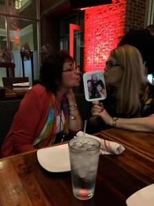 Leslie Budewitz and Cheryl Hollon love Liz, Barb, and Jessie.
