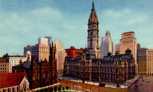 Phila postcard old