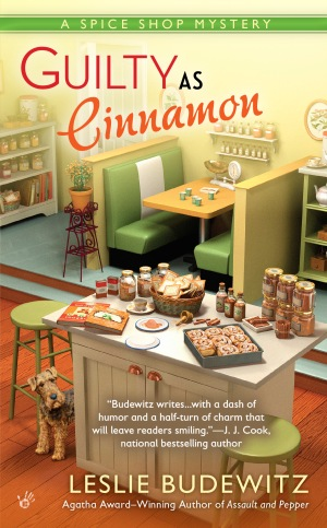 cover of Guilty as Cinnamon by Leslie Budewitz