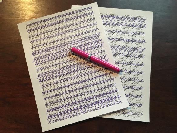 handwritinpracticesheets