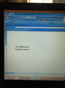 Second attempt -- title and who wrote it -- this is progress.