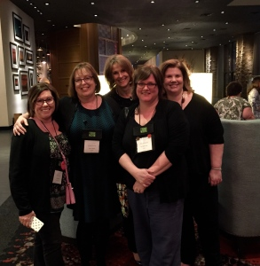 Holly West, Sherry Harris Carlene O'Neil, Lori Rader Day and Martha Cooley
