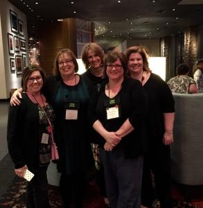 Holly West, Sherry Harris Carlene O'Neil, Lori Rader Day and Martha Cooley