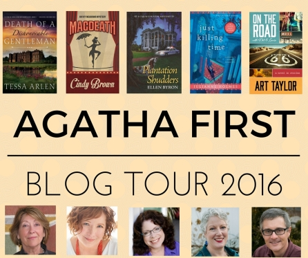 AGATHA FIRST BLOG TOUR