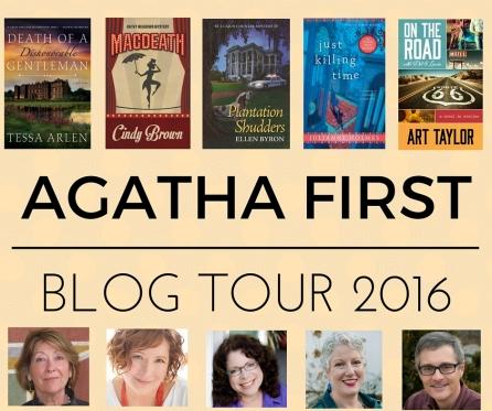 AGATHA FIRST BLOG TOUR