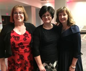 Sherry Harris, Joyce Tremel and Annette Dashofy