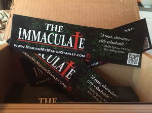 Immaculate bookmarks