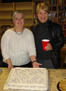 Lesa with Barbara Peters