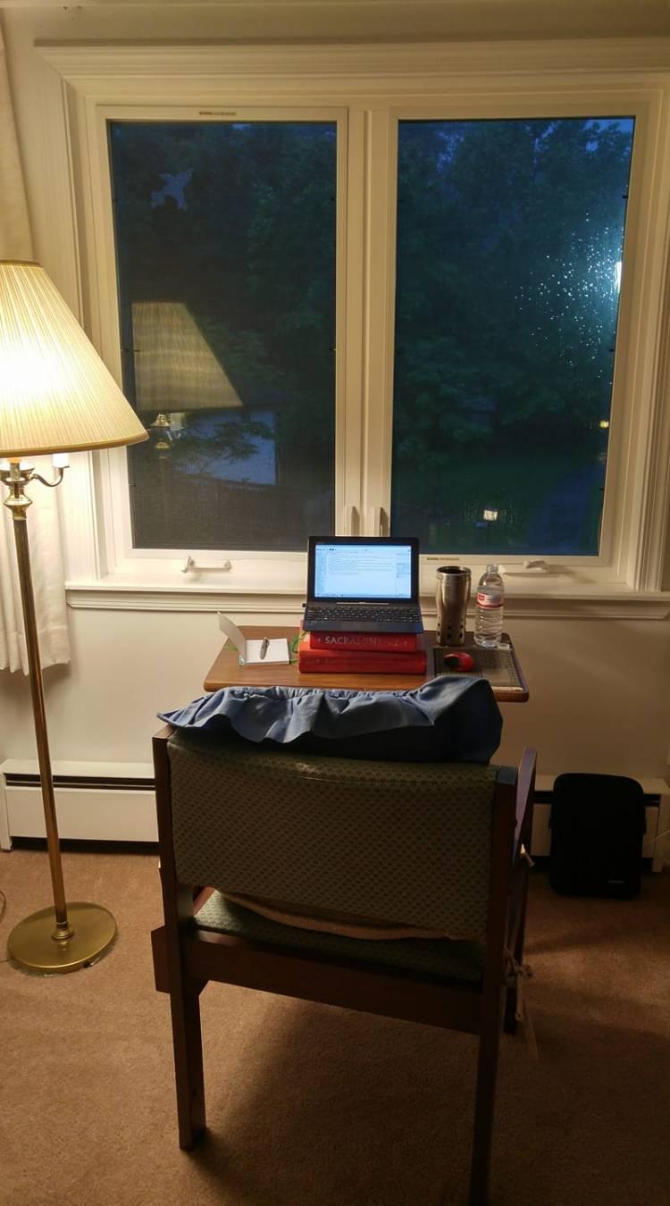 Edith's desk