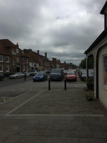 The standard parkign lot scene from Midsomer!