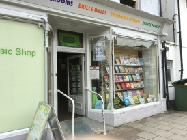 Bookshop from an epsisode of Midsomer Murders!