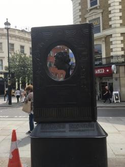 Agatha Christie Memorial in London!