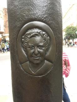 Aggie's memorial in London!