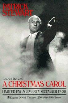 220px-Christmas_Carol_(Patrick_Stewart)_Broadway_Poster
