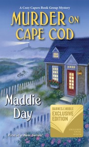 MURDER ON CAPE COD with sticker 1.5