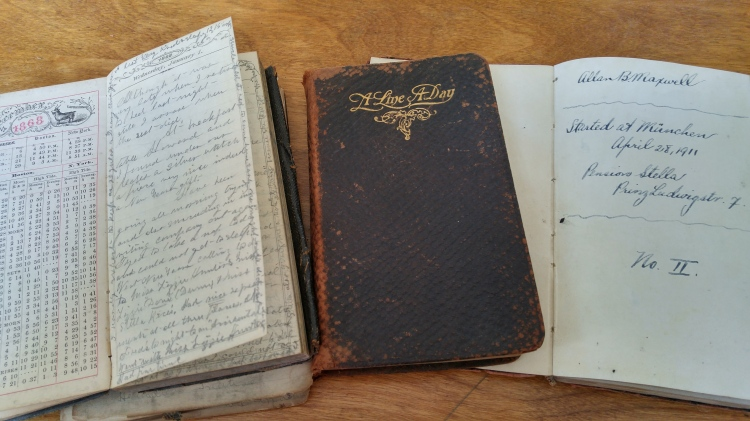 Poppa and Allison's diaries