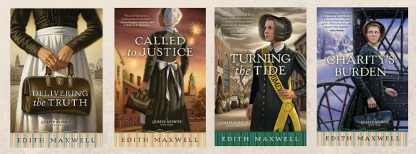 Quaker Midwife Mysteries 1-4
