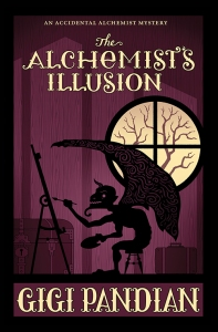 alchemists illusion gigi pandian book cover webres
