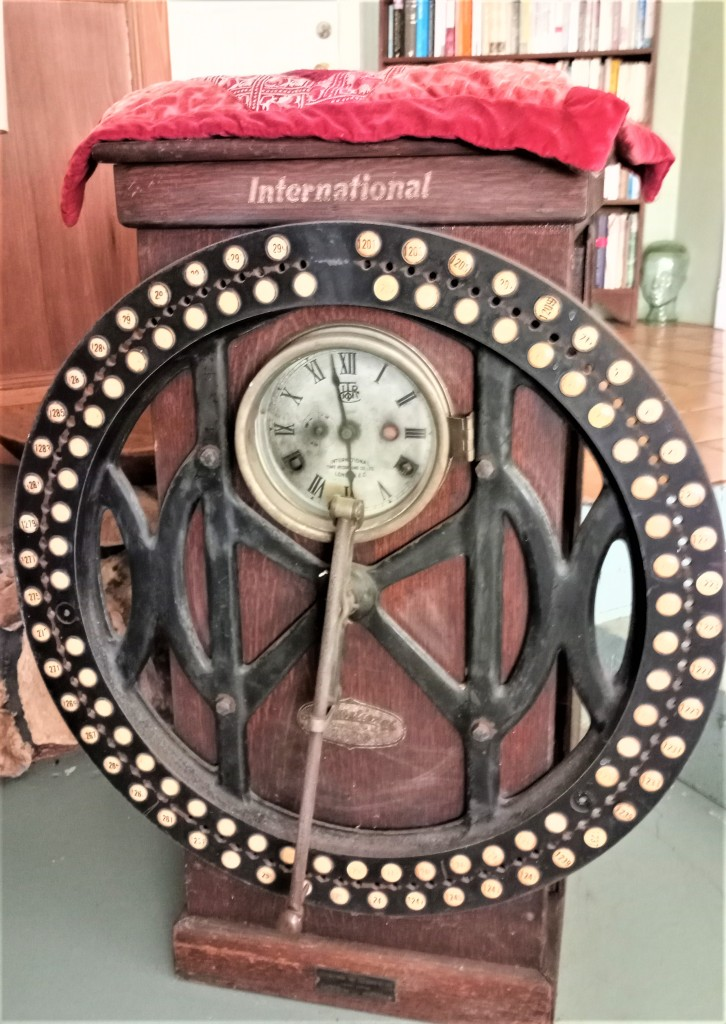 Time Clock from a paper mill