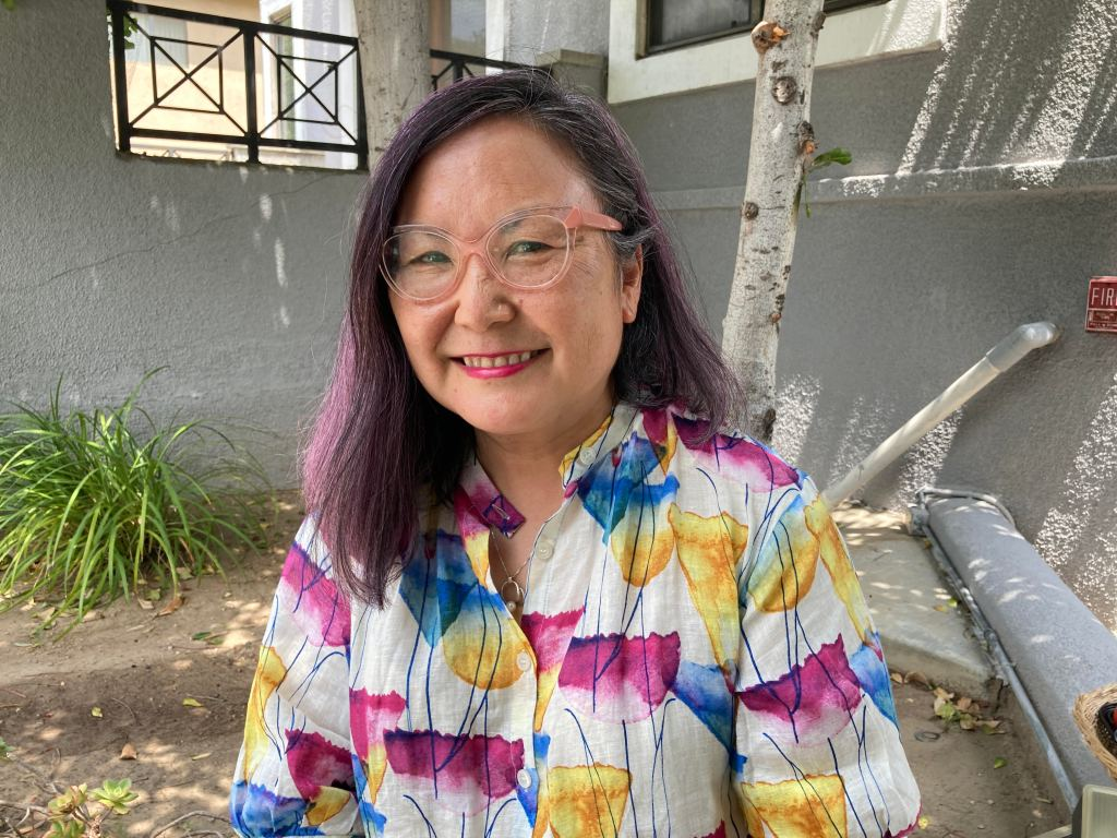 photo of Naomi Hirahara author of Clark and Division.